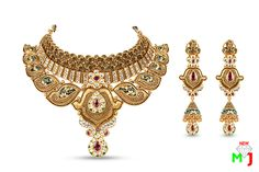 new maria jewellers offer a finest collection of bridal gold jewellery designed with ruby emerald beads and zircon jewellery in traditional design for wedding.  For More: www.newmariajewellers.com