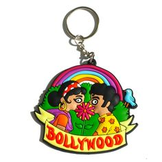 Bollywood Kiss Keychain How to Kiss Bollywood style :) All you need is a huge flower. And well, more importantly, all you need is love :) | Chumbak.com