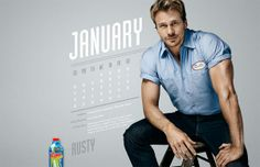 """January is just weeks away, which means it is definitely #calendar season. And if you haven't yet gotten yours for 2014 (and if you happen to have a thing for smoldering #plumbers), you have to check out #LiquidPlumr's new #pinup calendar featuring """"the Plumrs of 2014."""" #promotionalcalendars #hunks #studs"""