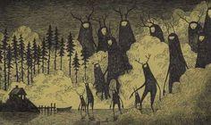 John Kenn Mortenson's Post It Monsters