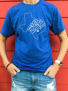 d141834a Austin Star Unisex Teeshirt from Gusto Graphic Tees. 10% of every sale is  donated