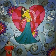 Ah o Amor... - Pintura (Acrílica) - Juliano Silva