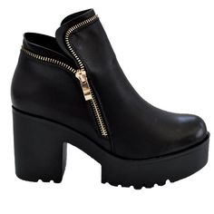 Stunning shoes now at #Nicci stores & online www.nicci.co.za #boot #zip
