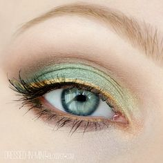 Stunning eye make-up in summer - 100 ideas for re-styling .- Umwerfendes Augen Make-Up im Sommer – 100 Ideen zum Nachstylen discreet summer make-up in light green eyeliner in yellow with a slight shimmer - Makeup Geek, Makeup Inspo, Makeup Art, Makeup Inspiration, Beauty Makeup, Hair Makeup, Makeup Ideas, Make Up Primer, Sommer Make Up