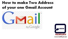If you have Gmail account , Do you know that you have two address of your one Gmail account. i was also not aware about this fact recently i got aware about this hidden truth so i thought why not tell this truth to other with my blog.When you created your Gmail Id from that day you have two address