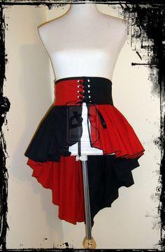 Harley Quinn Skirt Belt by annaladymoon.deviantart.com on @deviantART