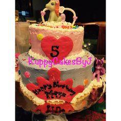 Strawberry 2layer cake-My Little Pony