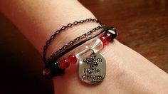 dream a little dream multistrand bracelet.