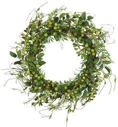 green berry wreath