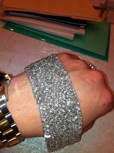 "There are no words to explain the ""wow"" that this many carats of diamonds makes when you walk in a room. Shop diamond bracelets anytime at www.svsfinejewelry.com or Visit us today to find your ""wow"" 3323 Long Beach Rd. Oceanside NY 11572 or call us at (516) 766-2614"