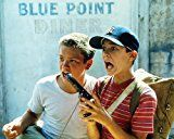Get This Special Offer #7: Stand by Me Featuring Wil Wheatonholding gun with River Phoenix 8x10 Promotional Photograph