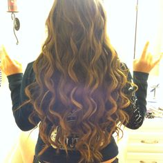 Carly's hair for prom :)