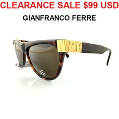 17366103472d2 CLEARANCE SALE Gianfranco Ferre GFF46 Vintage by MODELUNA76 Gianfranco  Ferre
