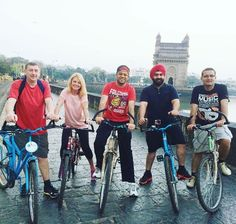 Proud to have organised a #cycling trip across #Mumbai with my friends. I was…