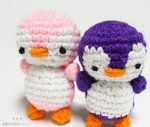 2 Penguins Amigurumi by ~adorablykawaii on deviantART