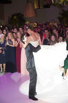 A dança dos noivos ( Foto: Cissa Sannomiya )