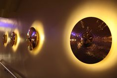 lights made from cymbals - Bing Images