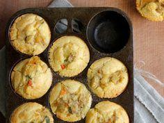 Chicken Pot Pie Cornbread Muffins