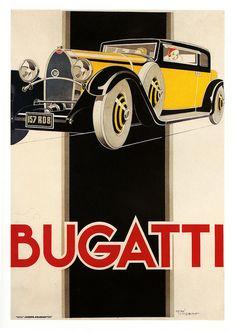 Rene Vincent Bugatti ad, 1930