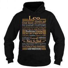 I Love Great Leo T shirts