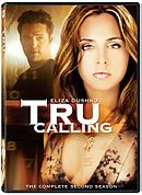 Tru Calling is an American television supernatural drama series that premiered on Fox Network on October 30, 2003.The show stars Eliza Dushku as Tru Davies, a woman who intended to go to medical school after graduating from college, but ends up taking a job at the city morgue. It is while working at the morgue that dead bodies start asking her for help and Tru re-lives the day, trying to keep a death from happening.