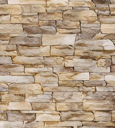 Papel de parede estilo pedras canjiquinha e pedras palito em tons de cinza e bege, com detalhes em marrom - Textura 05
