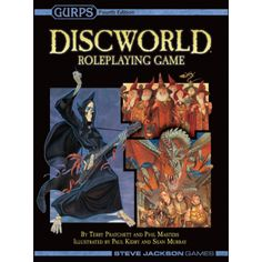 Steve Jackson Games Discworld Roleplaying Game : 2nd edition (Powered by GURPS)