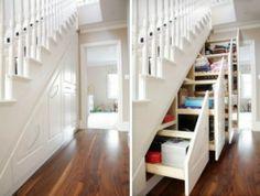 15 Under-Staircase Storage Space Ideas