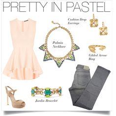 Get Pretty In Pastel with a pop of color by Stella & Dot! www.stelladot.com/sites/sylviacuff #stelladotbysylvia
