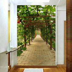 34.72$  Watch now - http://aliz17.shopchina.info/go.php?t=1950289042 - 3d wallpaper entranceway background wall paper three-dimensional mural wallpaper for walls of the corridor photo wallpaper  #buyininternet