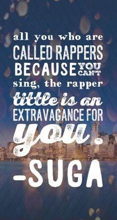 BTS || SUGA || QUOTES || WALLPAPER