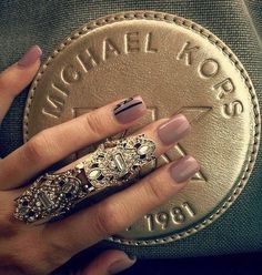 decorative knuckle ring