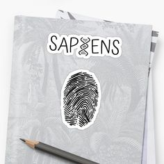 Sapiens Fingerprint / DNA - Get yourself a funny custom desing from RIVEofficial Redbubble shop.... tags: #sapiens #DNA #human #fingerprint #evolution  #genes #homosapiens #findyourthing #shirtsonline #trends #riveofficial #favouriteshirts #art #style #design #shopping #insidecollection #redbubble #digitalart #design #fashion #phonecases #access #customproducts #onlineshopping #accessories #shoponline #onlinestore #shoppingonline My Portfolio, Glossier Stickers, A Funny, Dna, Invite, Evolution, Custom Design, Finding Yourself, Digital Art