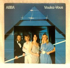 "Abba  Voulez-Vous 12"" LP 1979 Atlantic Amazing Harmony Easy Listening EX Vinyl #BritishPop"