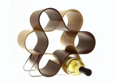 Wine Knot... even during those weeks you can't afford wine, this piece still looks good on your counter.