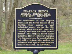 Historic district at Peapack, Gladstone, NJ - Google Search