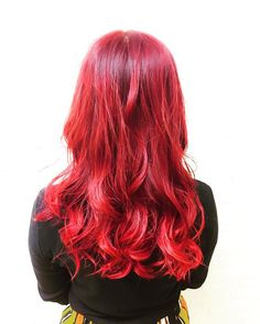 WEBSTA @ yucha403 - Manic panic ariel red color 🔥.マニックパニックで全体を赤に!.#hair #haircolor #hairstyle #bleach #redhair #manicpanic #hairofinstagram #disney #hairsalon #hairideas #hairpainting #tokyo #anime #japan #Mermaidians #neon  #pastelhair #vividhair #yuchaso #Photoshoot #Photography #マニックパニック #マニパニ #devilhair #ariel #アリエル