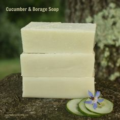 Cucumber Borage Soap Recipe
