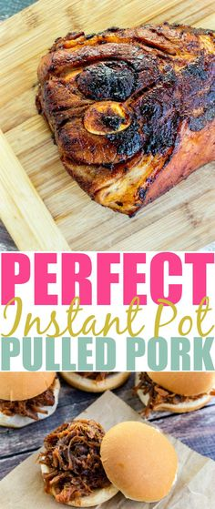 Instant Pot Pulled Pork perfection in less than 2 hours? You better believe it! Head over to the blog to get this amazing recipe so you can wow your family!