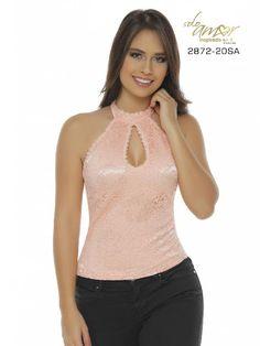Blusa Moda Colombiana Solo Amor - Ref. 246 -2872-20 SA Rosado