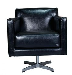 JAMES SWIVEL CHAIR | Block & Chisel