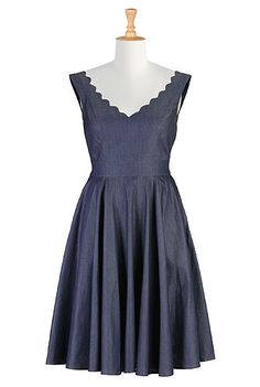 I've always wanted a soft denim frock. Yet to find one in NZ that floats my boat.