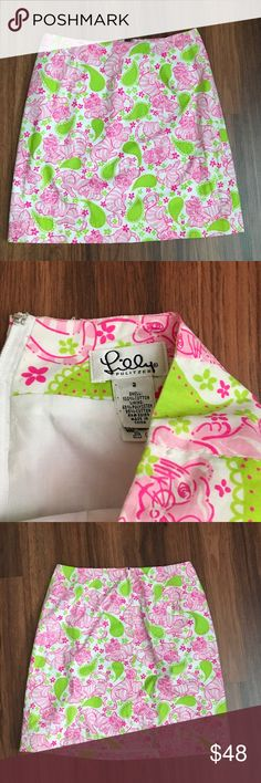 Lilly Pulitzer Tiger Print A-Line Skirt Size 2 New without tags Lilly Pulitzer Skirts A-Line or Full