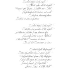 Silent Night WA.png ❤ liked on Polyvore featuring text, words, quotes, backgrounds, fillers, christmas, magazine, phrases, picture frame and saying