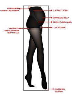 57a840fa39204 Assets By Sara Blakely Opaque Maternity Tights, Black Fleece Tights,  Support Tights, Maternity