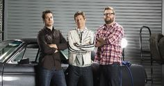 Top Gear USA, I like the guys, they have The Stig and I get to see lots of cool cars and funny challenges.  Tanner is an awesome driver, he gets to showcase the really fun cars.  I think this show will keep getting better & better.  I hope History keeps it around!