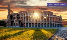 Tour of Italy with Airfare and Car Rental from Great Value Vacations - Rome, Tuscany, and Venice: ✈ 10-Day Italy Trip w/ Air and Car from Great Value Vacations. Price per Person Based on Quadruple Occupancy
