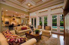 vintage florida decore | Betsy Speert\'s Blog: My living room story ...