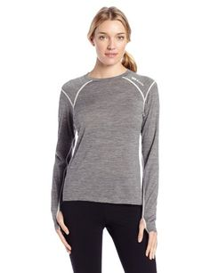 Sugoi Womens Wallaroo 170 Cruiser Long Sleeve Tee Concrete Heather Small ** Find out more about the great product at the image link.