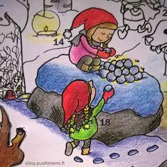 Kahdeksastoista luukku - Tarinatädin joulukalenteri